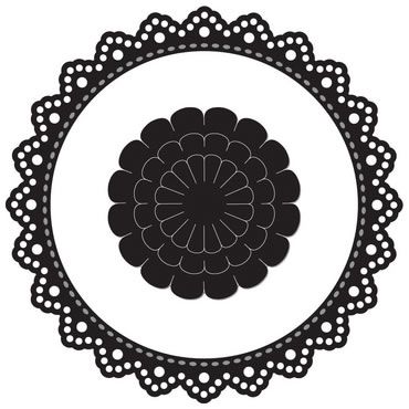 Pre-Order Marianne Designs - Circle Doily - Click Image to Close