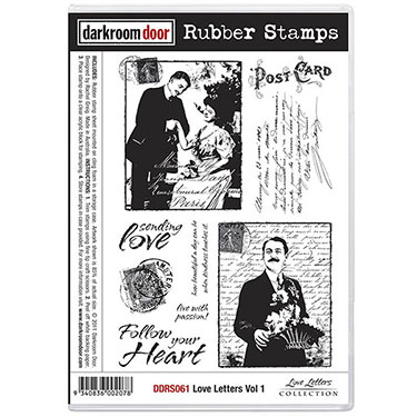 Pre-Order Darkroom Door -Rubber Stamp Set -Love Letters Vol 1 - Click Image to Close