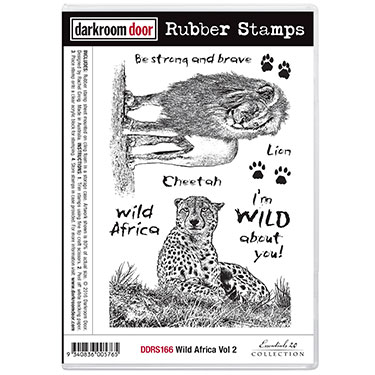 Pre-Order Dark Room Door Stamps - Wild Africa Vol 2 - Click Image to Close