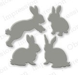 Pre-Order Impression Obsessions Dies - Rabbit Set