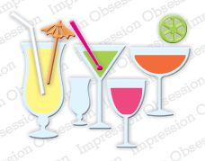 Pre-Order Impression Obsessions Dies - Mixed Drinks Set