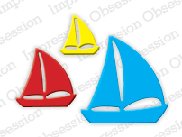 Pre-Order Impression Obsessions Dies - Sailboats