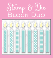 Pre-Order Impressions Obsessions Dies - Small Candle Block Duo
