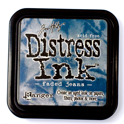 Pre-Order - Tim Holtz Distress Ink Pads - Faded Jeans - Click Image to Close
